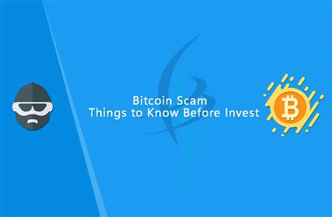 bitcoin legit bitcoin scam things to know before invest infigo software
