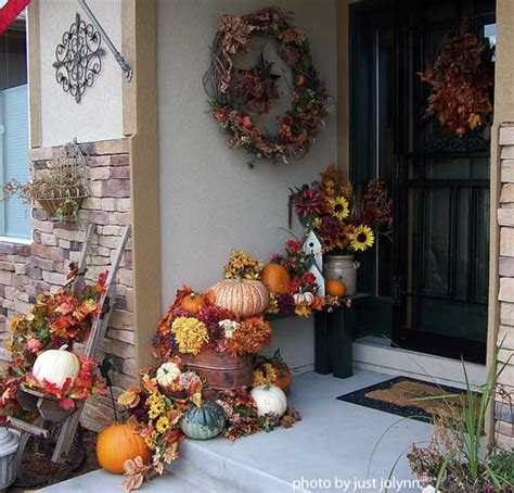 home decorating ideas for fall outdoor fall decorating ideas for your front porch and beyond
