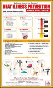 california heat illness prevention poster yelp