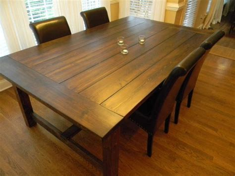 Wide Dining Table 84 Quot Long Extra Wide Farmhouse Dining Table
