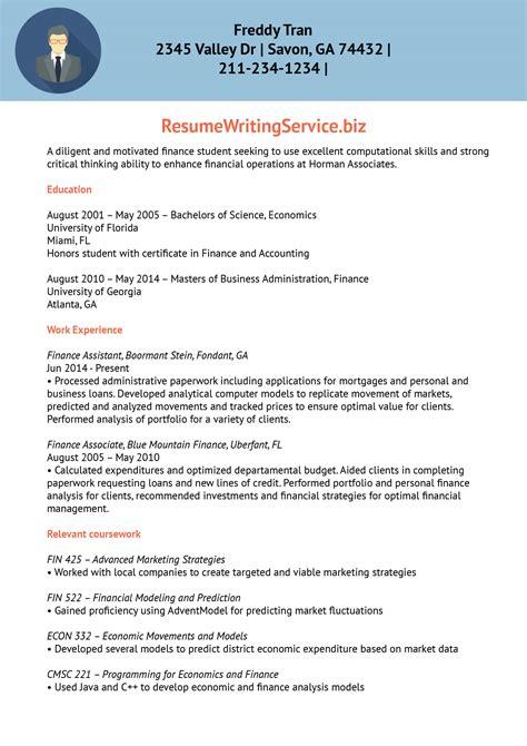 company trainee resume finance trainee resume sle
