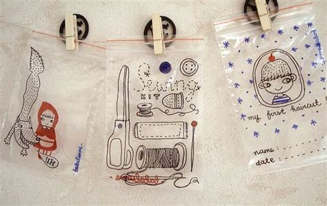 How To Decorate A Backpack With Sharpie by Decorate Ziploc Bags With Sharpies Crafts