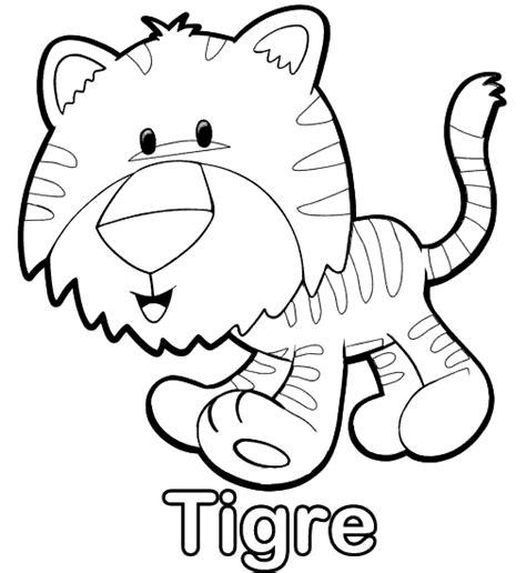 imagenes para pintar tigre dibujos de tigre para colorear