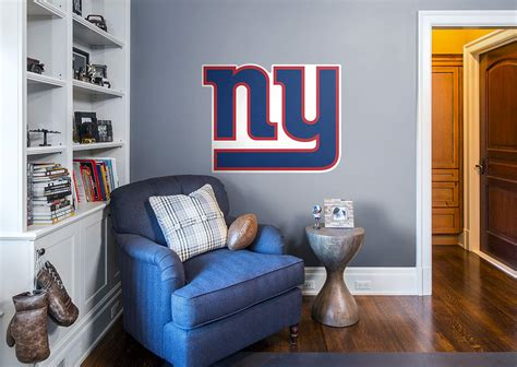 new york giants logo wall decal shop fathead 174 for new