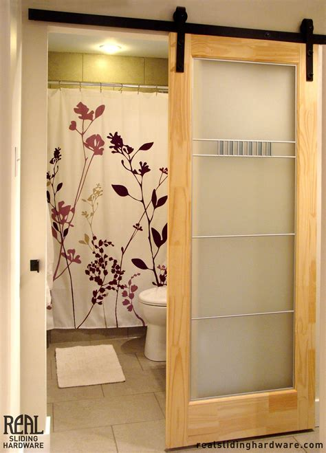 sliding barn door bathroom the diy sliding barn door ideas for you to use