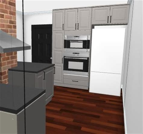 kitchen layout fridge next to oven wall oven next to fridge or not to wall oven next to fridge