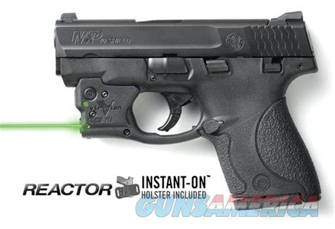 viridian reactor r5 tactical light ecr viridian reactor 5 green laser sight for s w sh for sale