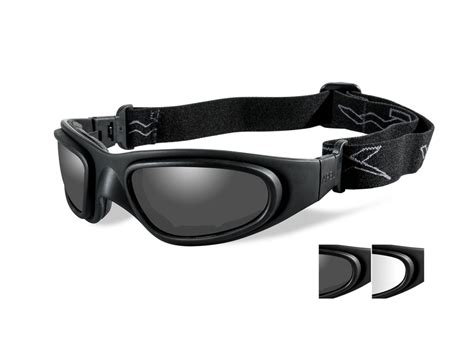wiley x sg 1 tactical goggles top ventilation clear