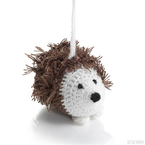 christmas ornaments herbie hedgehog ornament