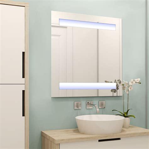 spiegelschrank real homcom led spiegelschrank lichtspiegel badspiegel real