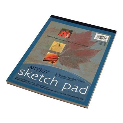 9 x 9 sketchbook pacon art1st sketch pad 9 quot x 12 quot medium weight 50