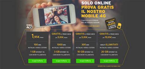 offerta mobile fastweb fastweb mobile offerte e tariffe a partire da 0 al