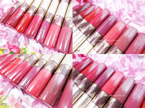 Sariayu Color Trend 2016 Duo Lip Color Krakatau 11 rainbowdorable by auzola