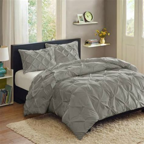 queen bed coverlet set better homes and gardens gray pleat bedspread and