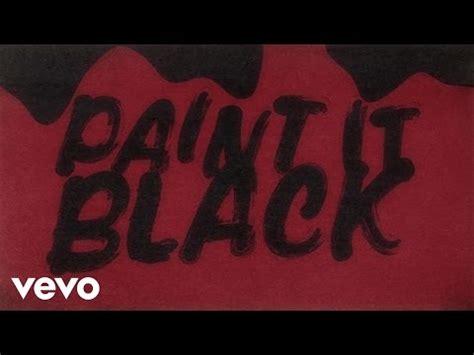 paint it black testo paint it black rolling stones significato della