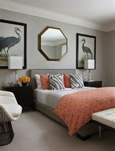 Gray Guest Bedroom Ideas Serene Coral Combinations Mint Grey