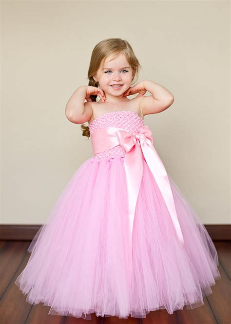 tutu dress pink flower tutu dresses