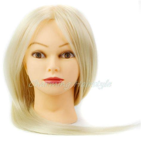 Hair Style Doll Heads With Different Colors by Mannequin Hair Heat Resistant With Hair Mannequin