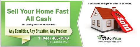 sell your house fast investorwize