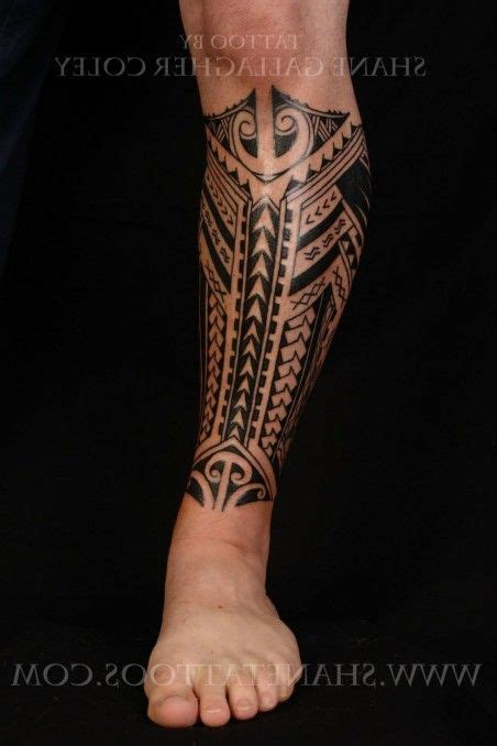 polynesian tribal leg tattoos 17 best ideas about polynesian leg on