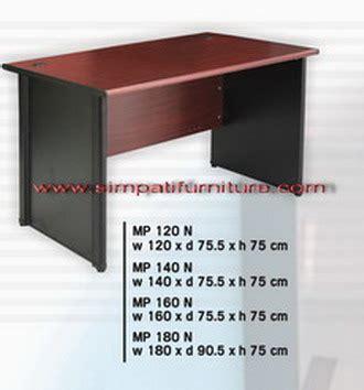 Meja Expo Mp 120 uno office furniture penyekat partisi kantor murah harga