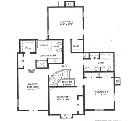 120 sq ft european style house plan 4 beds 3 baths 3408 sq ft plan 12 120