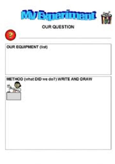 science experiment report template ks2 worksheets science investigation template