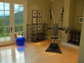 Home Fitness Rooms Serene Exercise Rooms Decorating And Design Ideas For
