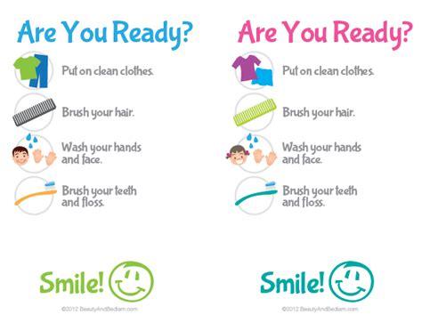 bathroom routine printables printable kids bathroom checklist hygiene checklist for