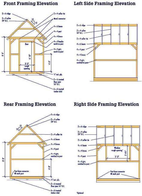 free plans free wood shed plans shed plans kits