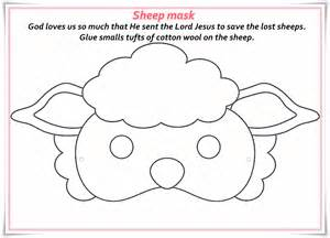 sheep template printable free image result for sheep mask pinteres