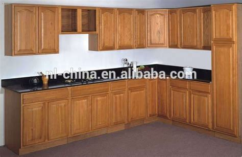 solid wood cabinets factory direct factory price classical solid wood kitchen cabinet for