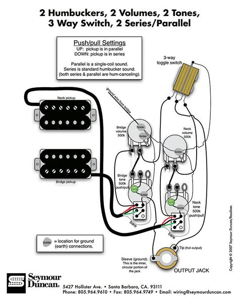 gibson les paul push pull wiring diagram k