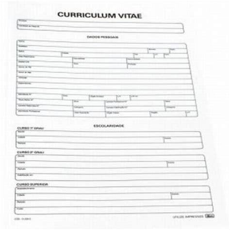Modelo De Curriculum Vitae Para Rellenar E Imprimir Curr 237 Culos Para Imprimir Modelos E Programas Para Criar