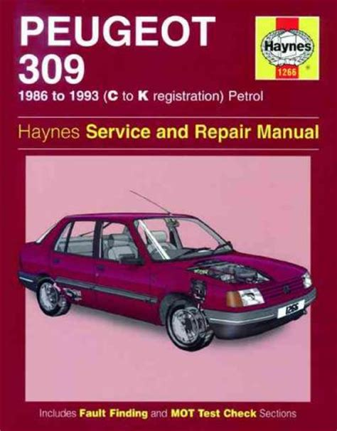 service manual books about how cars work 1993 audi quattro parking system books on how cars peugeot 309 petrol 1986 1993 haynes service repair manual sagin workshop car manuals repair