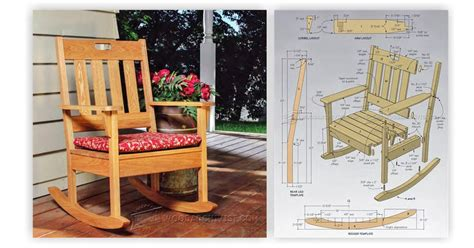 Porch Rocking Chair Plans by Outdoor Rocking Chair Plans Woodarchivist