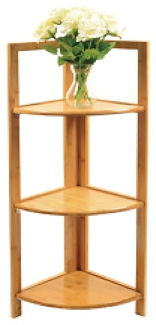 Bamboo Corner Shelf by Timber Valley Home And Garden Timber Valley 3 Tier Bamboo