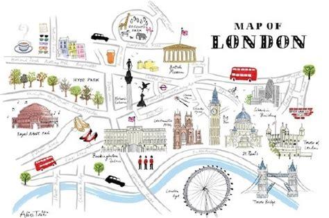 map of landmarks 2 map of landmarks map of central landmarks