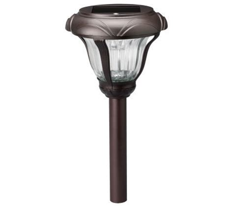 solar landscape lighting qvc westinghouse solar melbourne solar light page 1 qvc