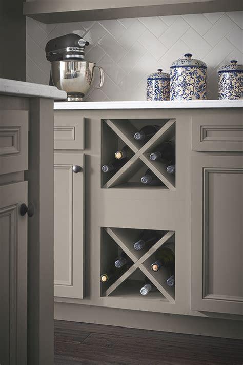 wine storage cabinet in gray laminate
