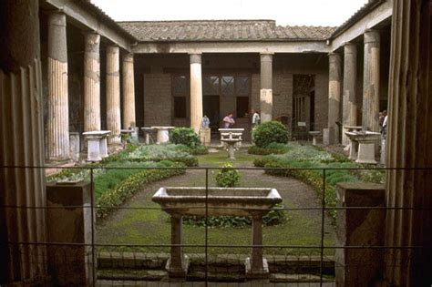 roman house domus with atrium and peristyle design peristyle for the love of rome