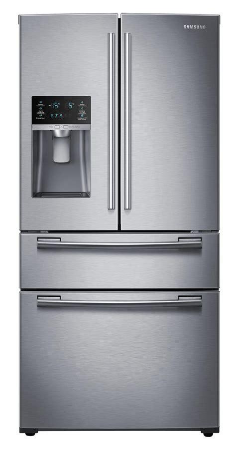 samsung rf25hmedbsr aa 25 cu ft 4 door door - Door Refrigerator Sears Outlet