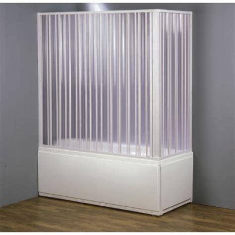 box doccia x vasca cabina box vasca pvc in kit riducibile a due lati apertura