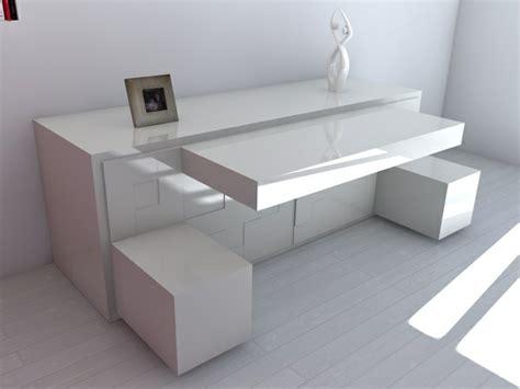 Impressionnant Meubles Pour Petits Espaces #3: bureau-escamotable-design-blanc-moderne.jpg