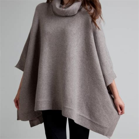 Detox Poncho by Fancy Poncho By White Warren