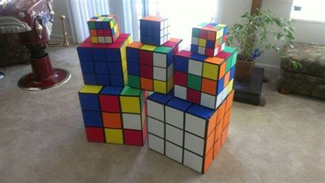 80s decor rubiks cubes 80s decorations 80s decor pinterest