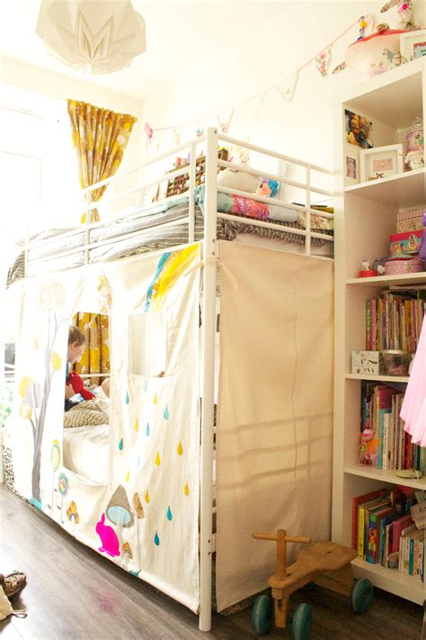 apartments bunk bed forts fumbleweeds tents ikea more canada tent house tour kids teepee tent