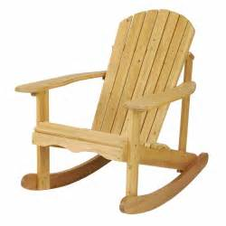 astonica 50108029 wood outdoor adirondack rocking chair