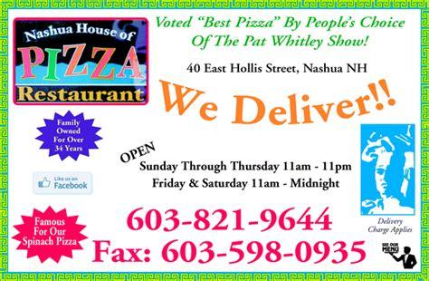 nashua house of pizza nashua house of pizza nashua nh 03060 yellowbook