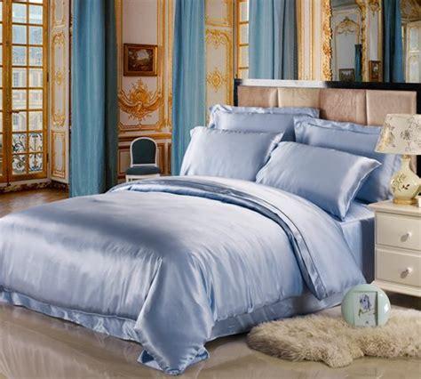 lightweight silk comforter 11 cool heavenly blue comforters for a peaceful bedroom